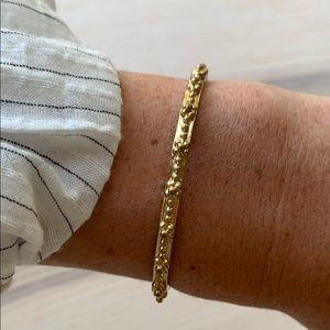 Brass detailed cuff